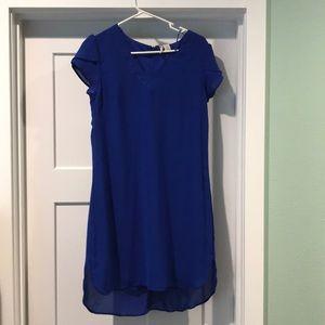 LIKE NEW super cute blue dress
